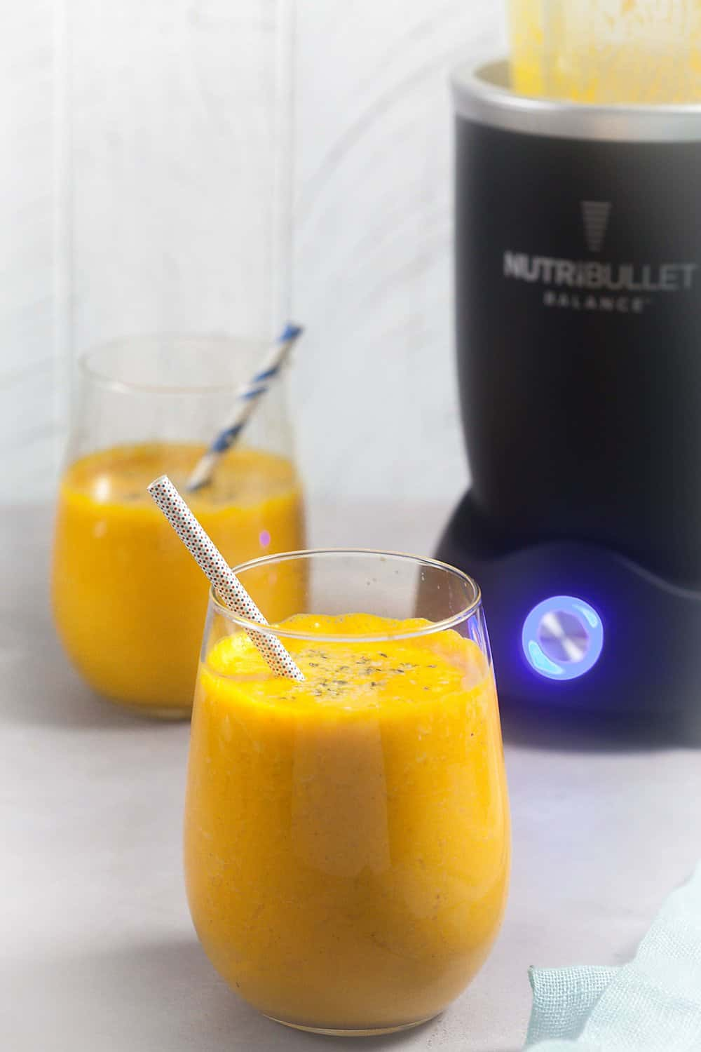 pineapple Ginger Immunity Smoothie with Nutribullet Balance