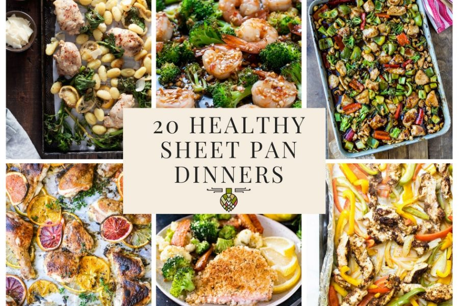 20 Healthy Sheet Pan Dinners for Busy Weeknights (Paleo, Whole 30, Gluten Free, and Dairy Free!)