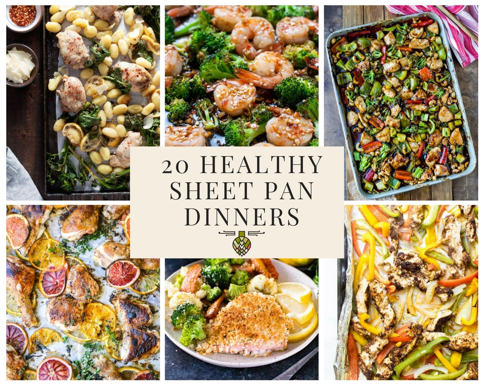 20 healthy sheet pan dinners for busy weeknights healthy delicious