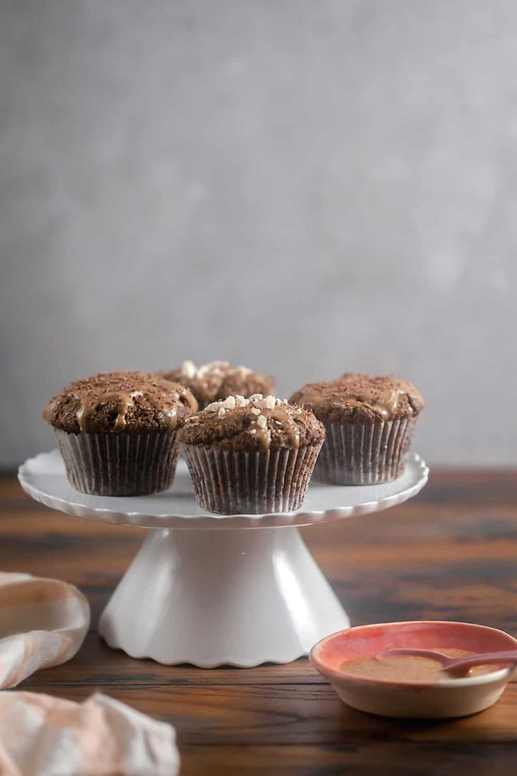 Grain-Free Chocolate Peanut Butter Cupcakes 1