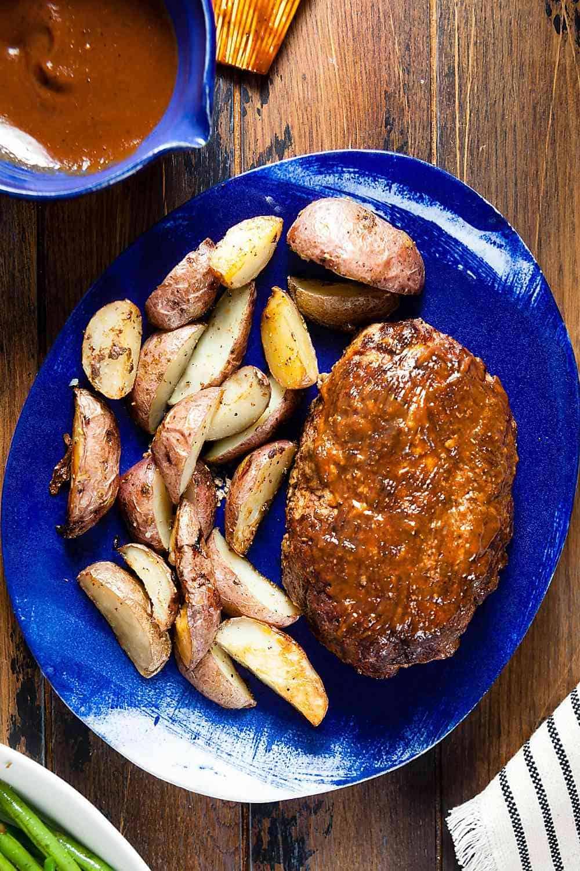 Paleo barbecue meatloaf recipe