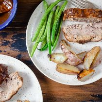Paleo Barbecue Meatloaf with Roast Potatoes (Paleo, Whole 30, Dairy Free) 10