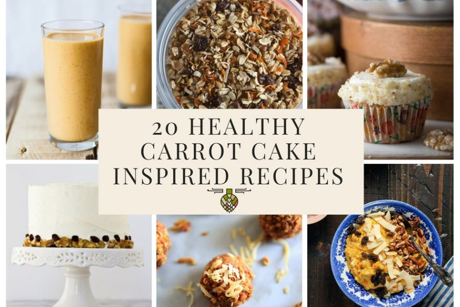 20 Healthy Carrot Cake Inspired Recipes for Spring
