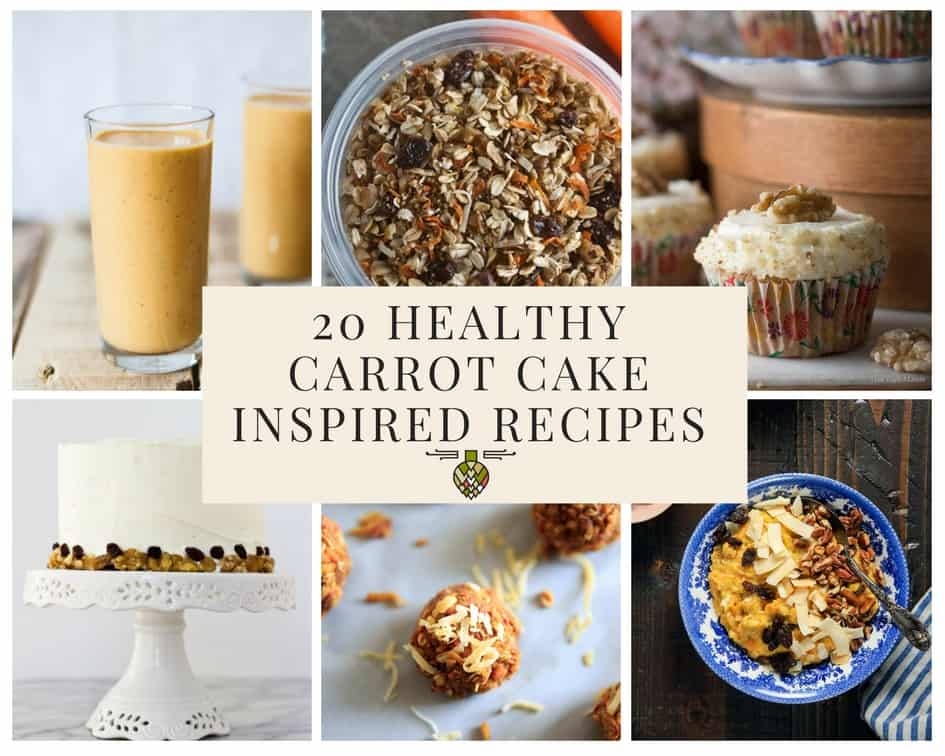 20 Healthy Carrot Cake Inspired Recipes for Spring 14