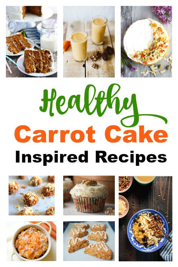 20 healthy carrot cake recipes for spring
