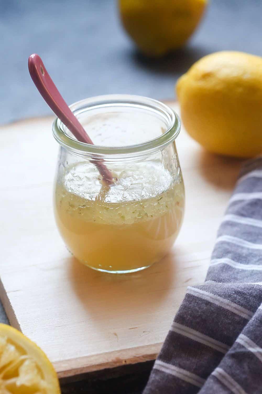Homemade Lemon Vinaigrette Recipe