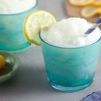 Honey-Sweetened Frozen Lemonade