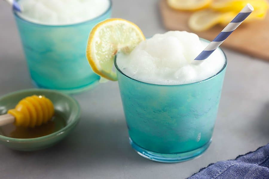 Honey-Sweetened Frozen Lemonade [Paleo, Dairy Free]