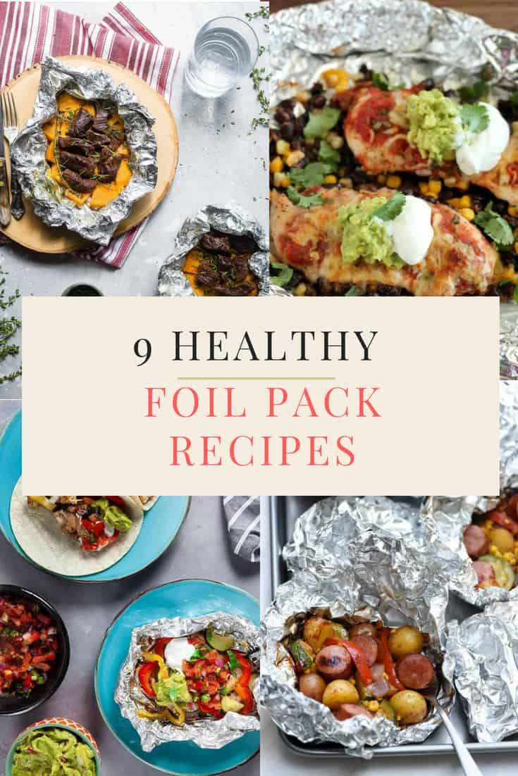 9 Healthy Foil Pack Meals For When You Don't Want To Do Dishes