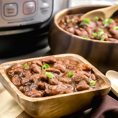Instant Pot Barbecue Baked Beans