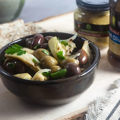 Marinated Artichoke and Olive Salad