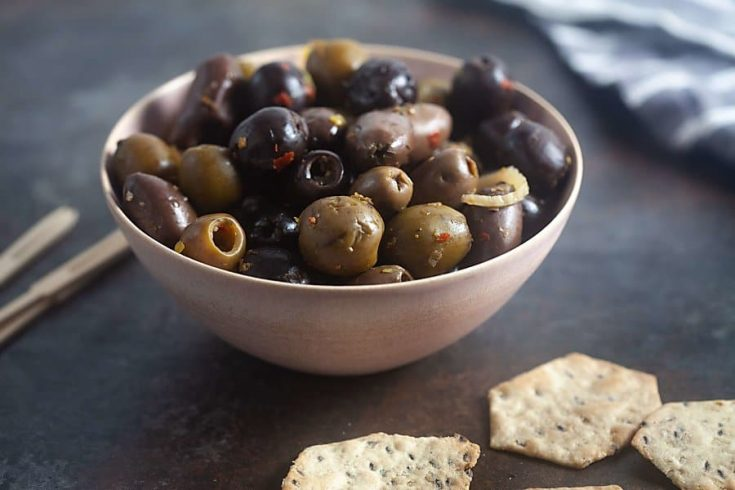 Grilled Olives with Fennel and Orange (Paleo, Whole 30, Gluten Free) 1