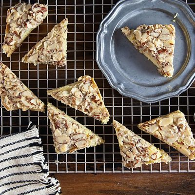 Dorie Greenspan's Swedish Visiting Cake Bars (Gluten-Free)