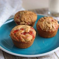 Peanut Butter and Jelly Muffins (Gluten Free Option) 16