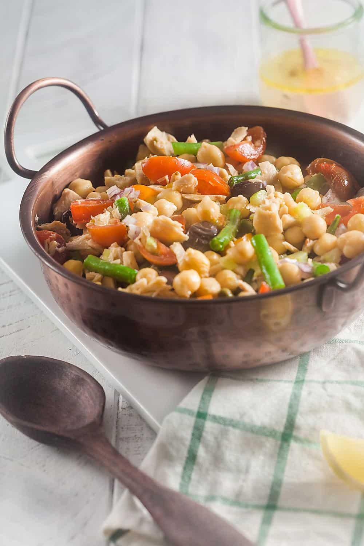 Nicoise Tuna Bean Salad (Gluten-Free, Dairy Free) 1