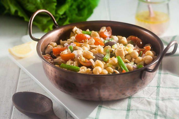 Nicoise Tuna Bean Salad (Gluten-Free, Dairy Free) 2