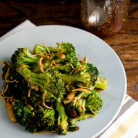 Spicy Broccoli Sauté