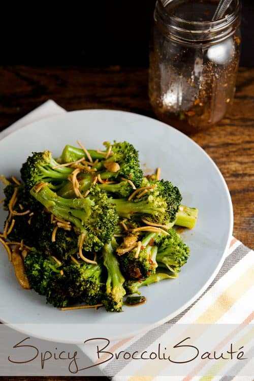 Spicy Broccoli Sauté 1