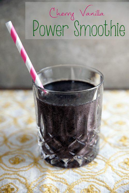 Cherry-Vanilla Power Smoothie 1
