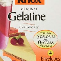 Knox Gelatine Unflavored, 4 Count (Net Wt. 1 Ounce)