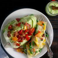 Avocado BLT Wedge Salad