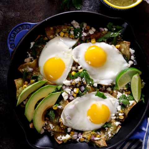 Baked Chilaquiles Verde