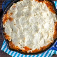 Buffalo Chicken Shepherd's Pie
