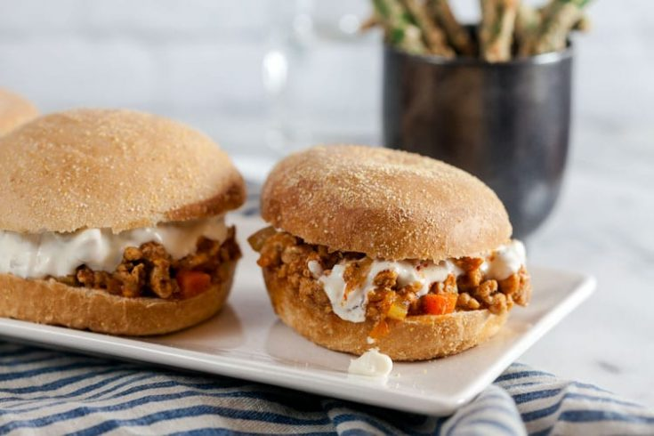 Buffalo Chicken Sloppy Joes 1