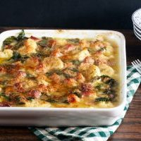 Cauliflower and Chard Gratin