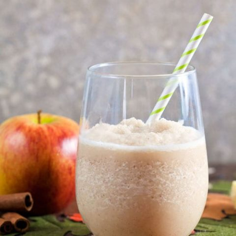 Creamy Apple Cider Slush