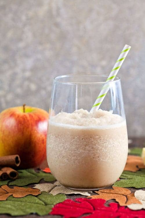 Creamy Apple Cider Slush {Dairy Free} 1