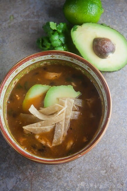 Chicken Tortilla Soup 1