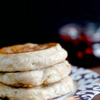 Crumpets with Strawberry Balsamic Jam