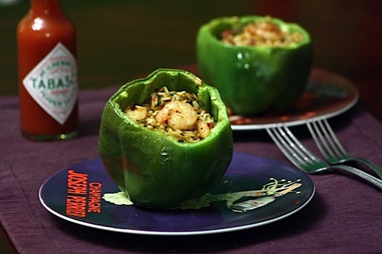 Jambalaya-Stuffed Peppers 1