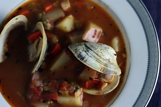 Manhattan Clam Chowder 1