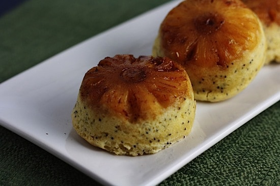 Mini Pineapple Upside Down Cakes 1