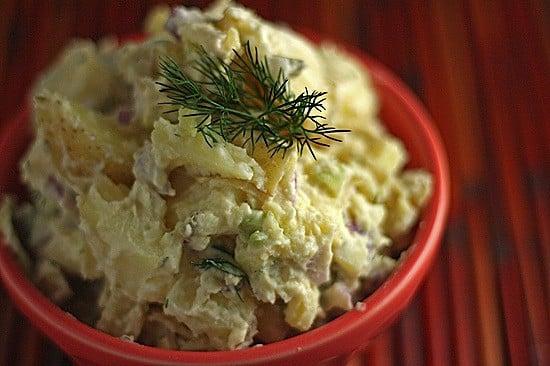 potato salad with greek yogurt and no mayo