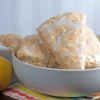 Lemon Ginger Scones #GalantinesDayParty