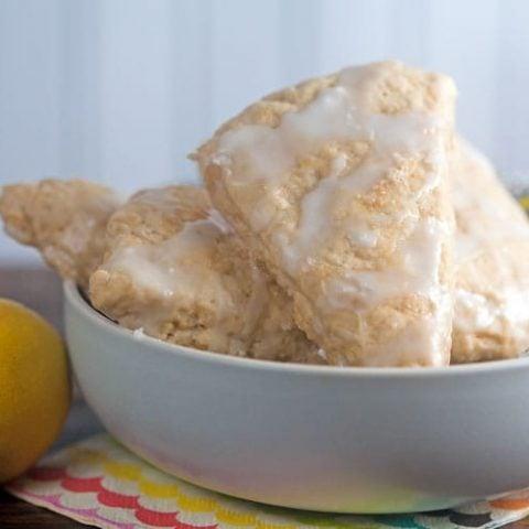 Lemon Ginger Scones #GalantinesDayParty