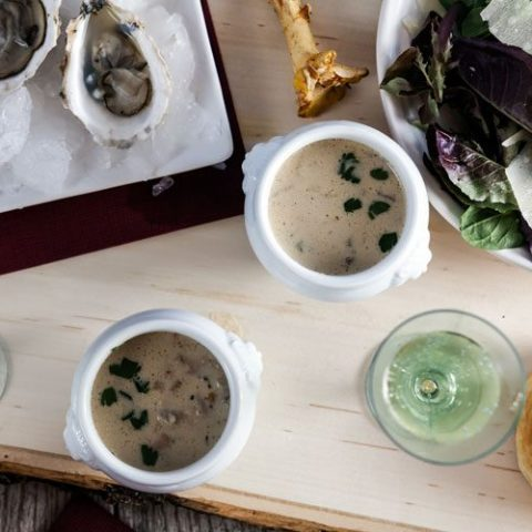 Oyster and Wild Mushroom Stew