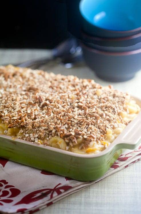 Pretzel Crusted Mac and Cheese 1