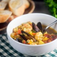 Provencal Seafood Stew #SundaySupper
