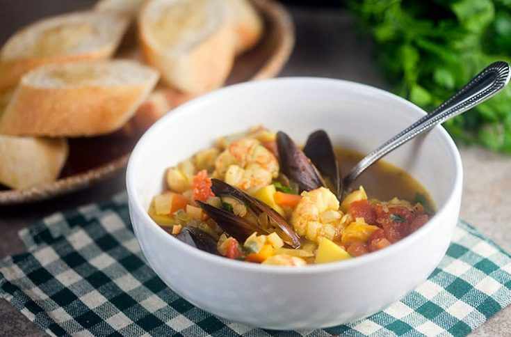 Provencal Seafood Stew 1