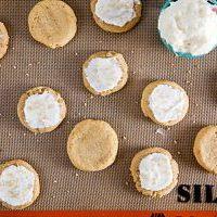Soft Pumpkin Cookies with Vanilla Bean Buttercream