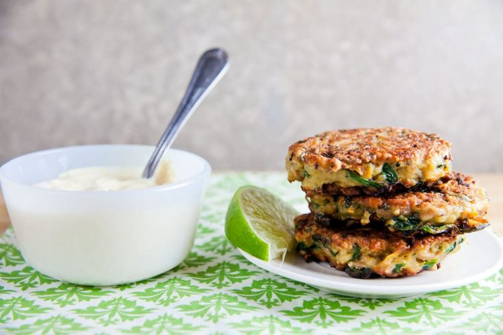 Sweet Potato and Quinoa Patties with Curry Sauce 1