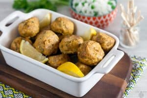 Tandoori Chicken Meatballs 1