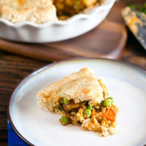 Tofu Curry Pot Pie