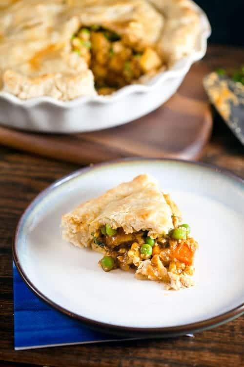 Tofu Curry Pot Pie 1