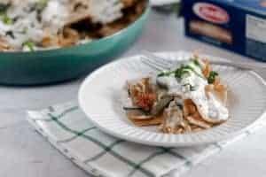 Summer Vegetable Skillet Lasagna 1