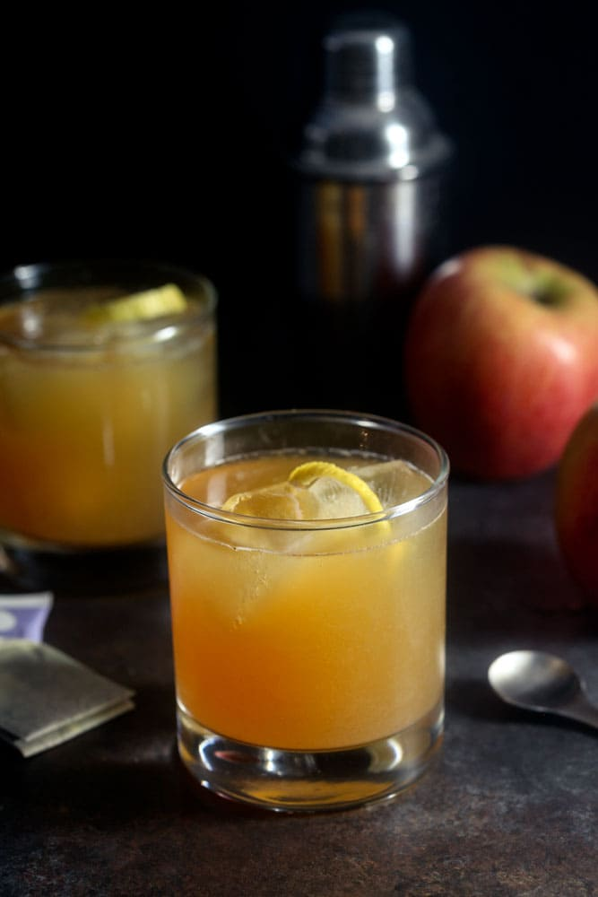 Earl Grey Apple Cider Cocktail 1